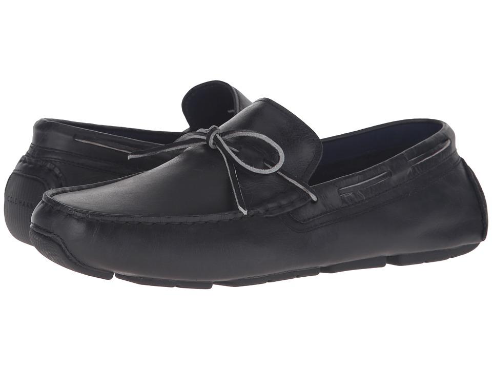 Cole Haan - Kelson Camp Moc (Black) Men's Shoes