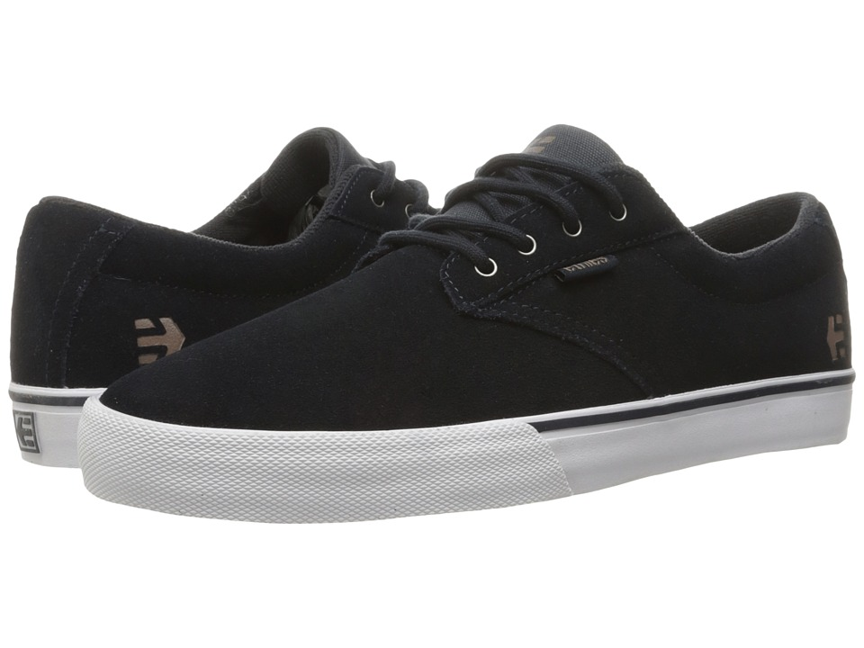 etnies - Jameson Vulc (Navy/White/Gum) Men's Skate Shoes