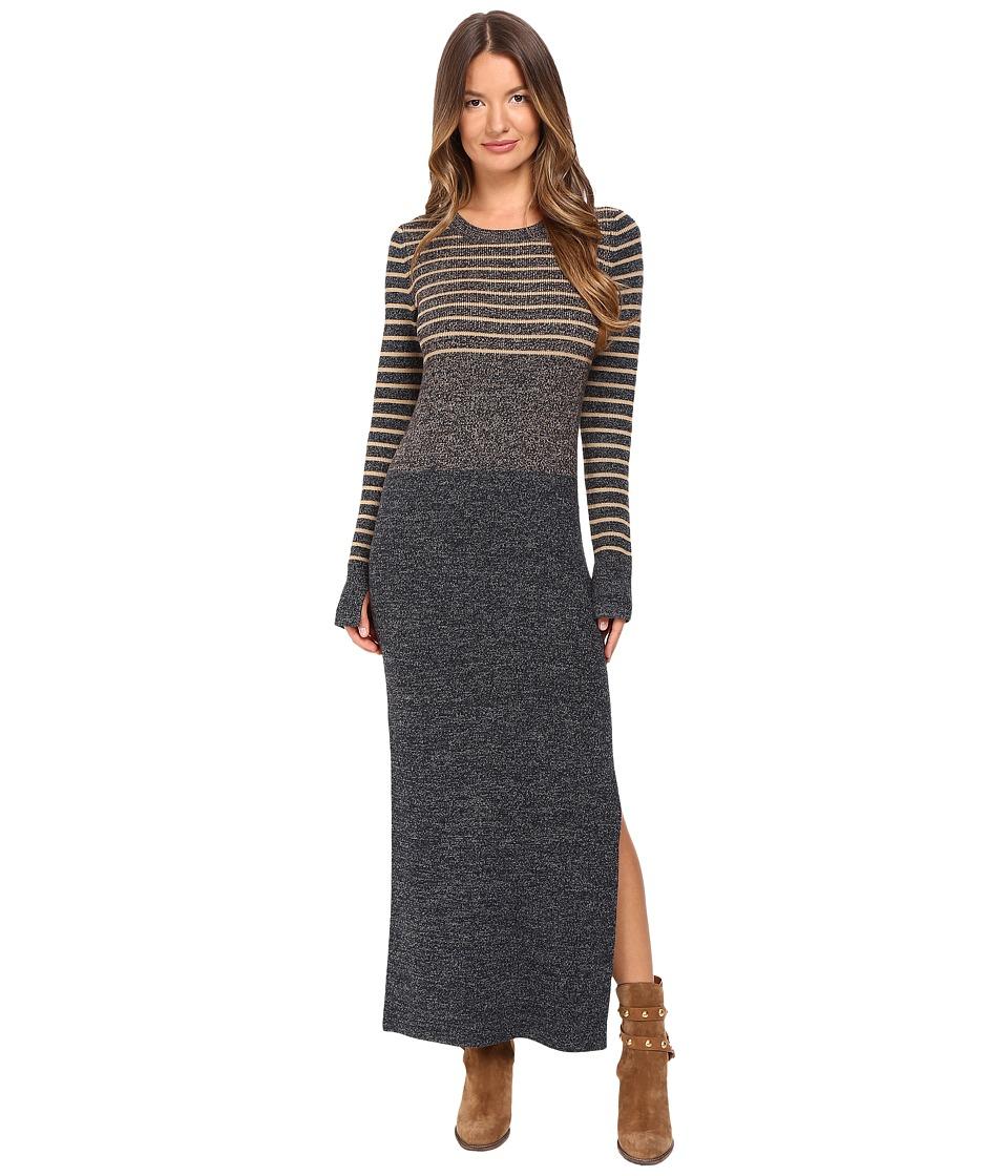 See by Chloe - Striped Knit Dress (Faon) Women's Dress