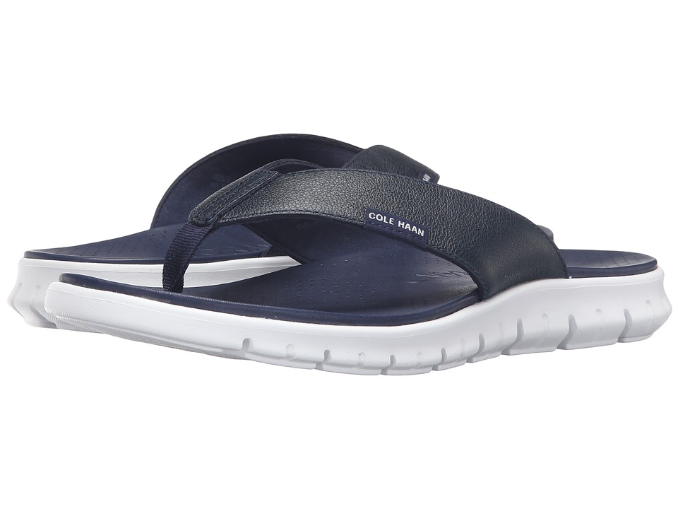 Cole Haan Zerogrand Sandal (Marine Blue) Men