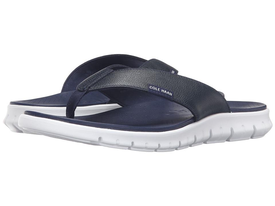 Cole Haan - Zerogrand Sandal (Marine Blue) Men's Sandals