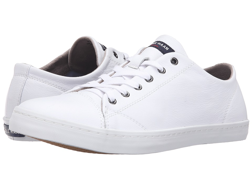 Cole Haan Trafton Cap Sneaker White Mens Shoes