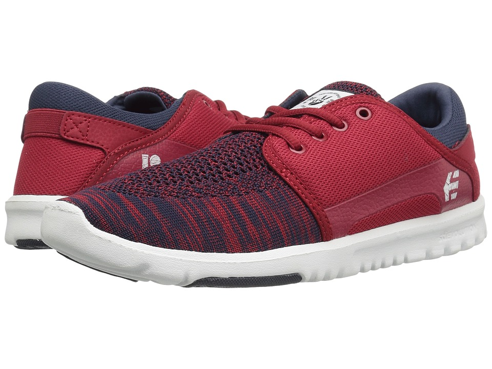 etnies - Scout YB (Navy/Red/White) Men's Skate Shoes
