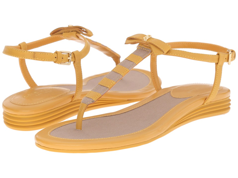 Cole Haan Analyn Grand Sandal (Mineral Yellow) Women