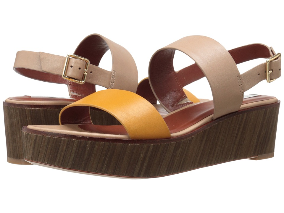 Cole Haan - Cambon Wedge Sandal (Cremini/Natural) Women's Wedge Shoes