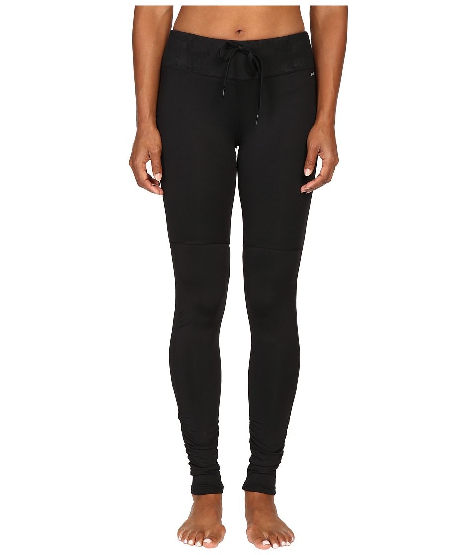 Jockey Active - Studio Leggings (Deep Black) Women's Workout