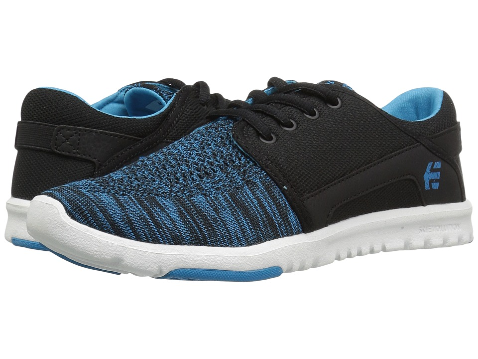 etnies - Scout YB (Black/Blue) Women's Skate Shoes