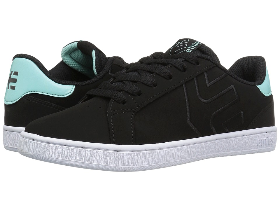 etnies - Fader LS W (Black/Light Blue) Women's Skate Shoes