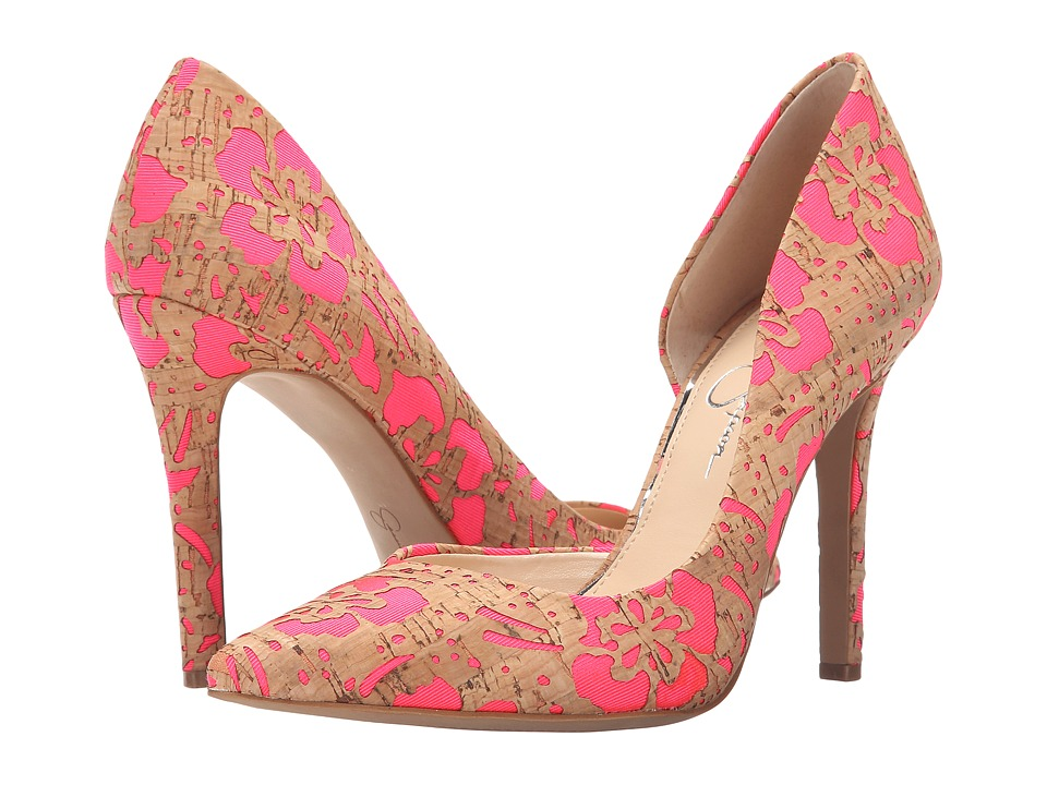 Jessica Simpson - Claudette (Bright Pink) High Heels