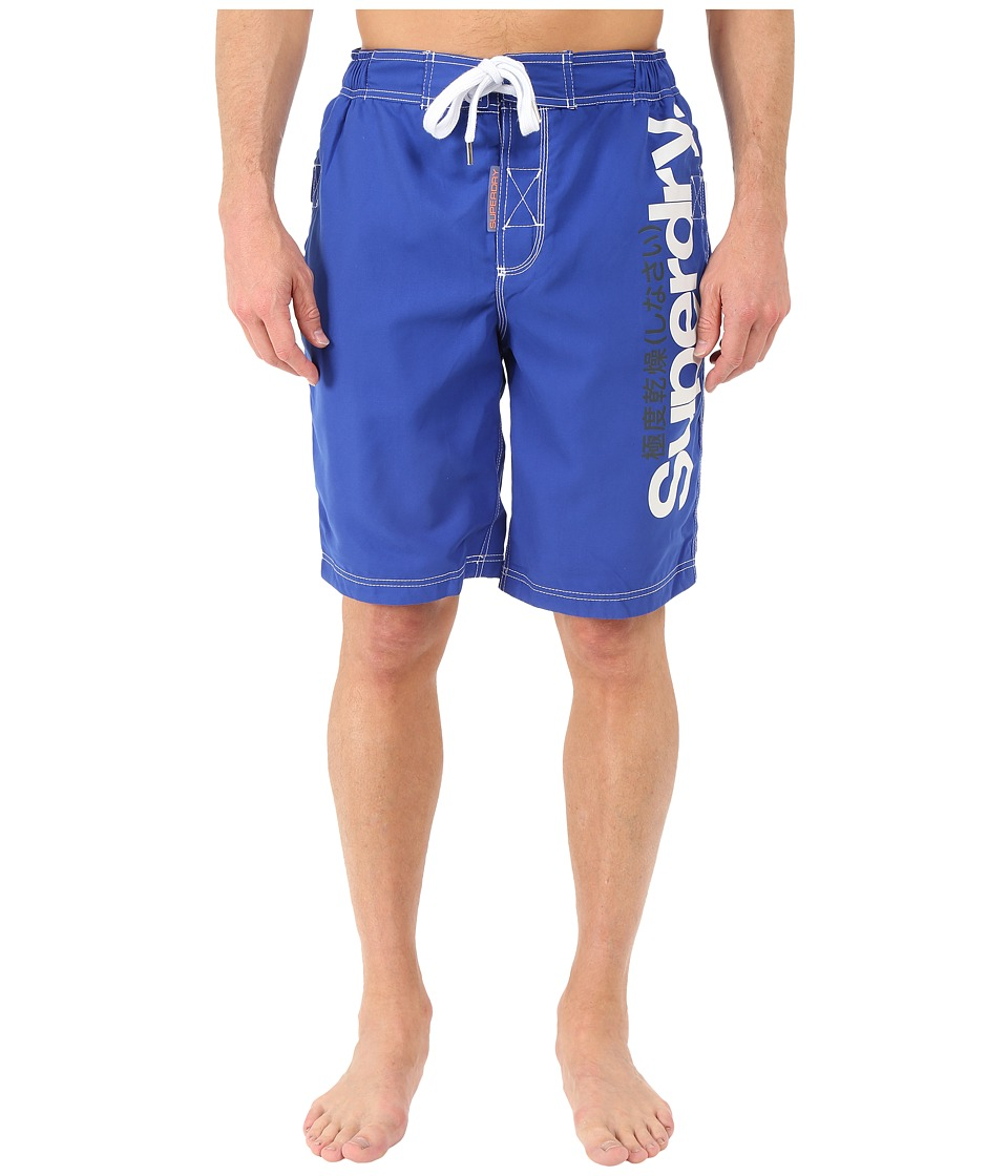 Superdry - Superdry Boardshorts (Voltage Blue) Men's Swimwear