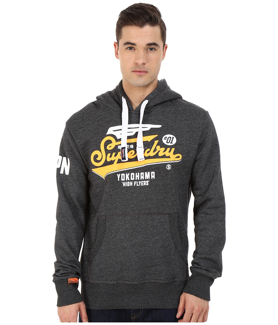 Superdry - High Flyers Hoodie (Montana Black Jasper) Men's Sweatshirt