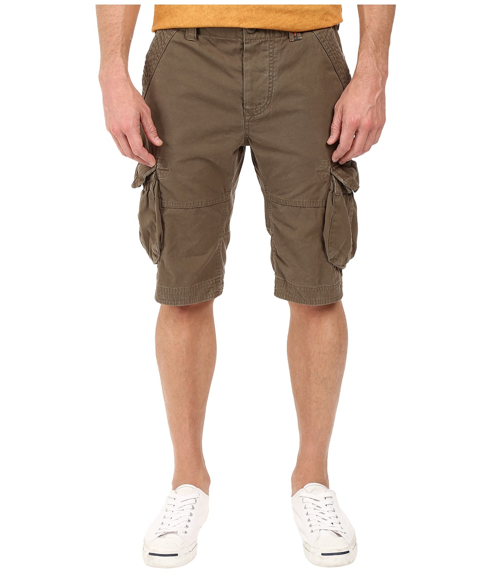 Superdry - Core Cargo Lite Shorts (Battalion Green) Men's Shorts