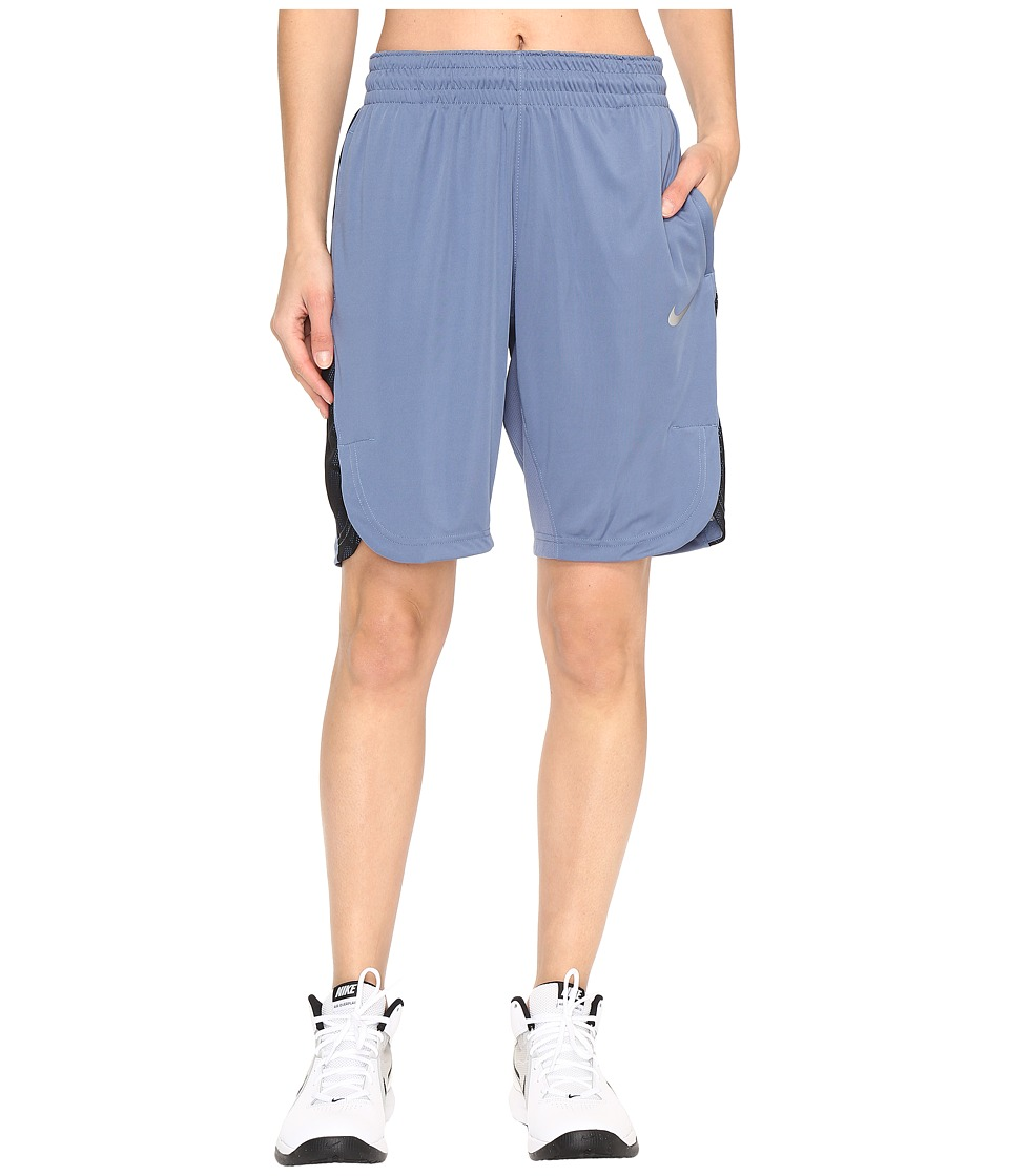 Nike - Elite Basketball Short (Ocean Fog/Purple Dust/Matte Silver) Women's Shorts