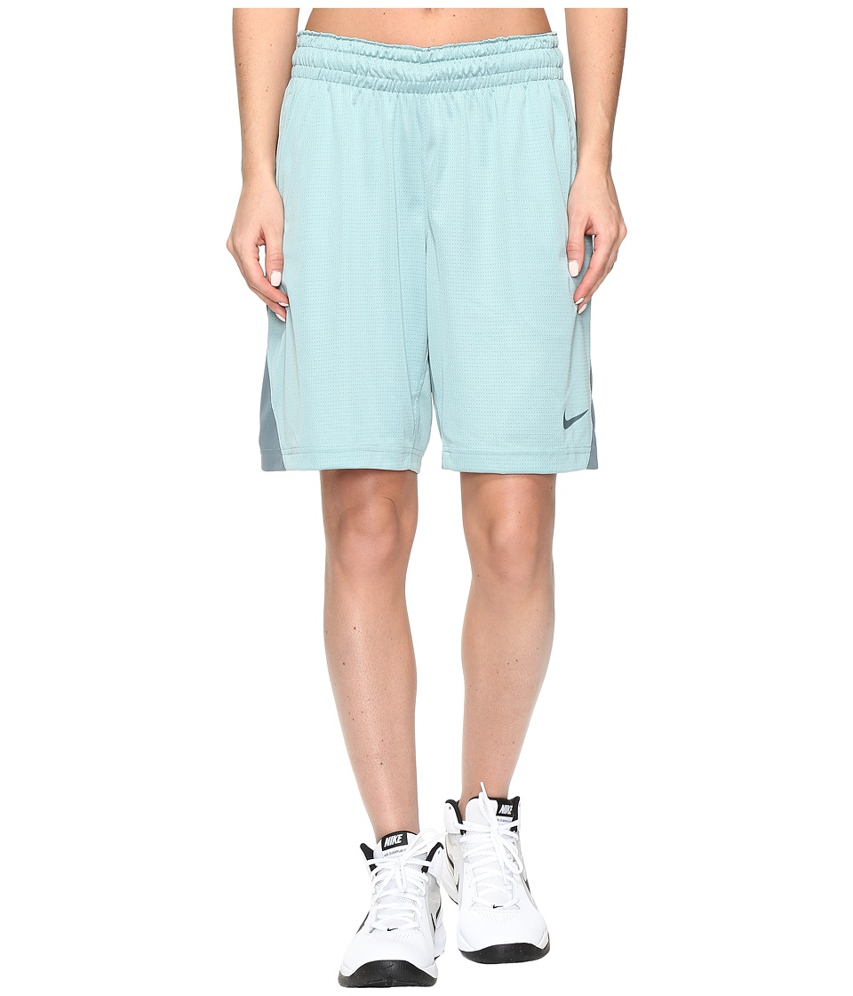 Nike - 9 Basketball Short (Cannon/Hasta/Hasta) Women's Shorts