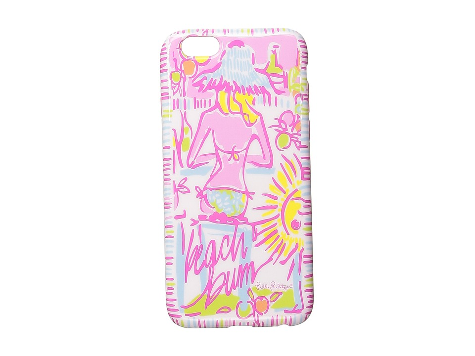 Lilly Pulitzer - iPhone 6 Cover (Pink Pout More Kinis In The Keys) Cell Phone Case