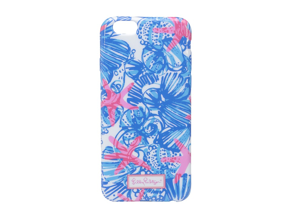 Lilly Pulitzer - iPhone 6 Cover (Bay Blue She She Shells Tech) Cell Phone Case