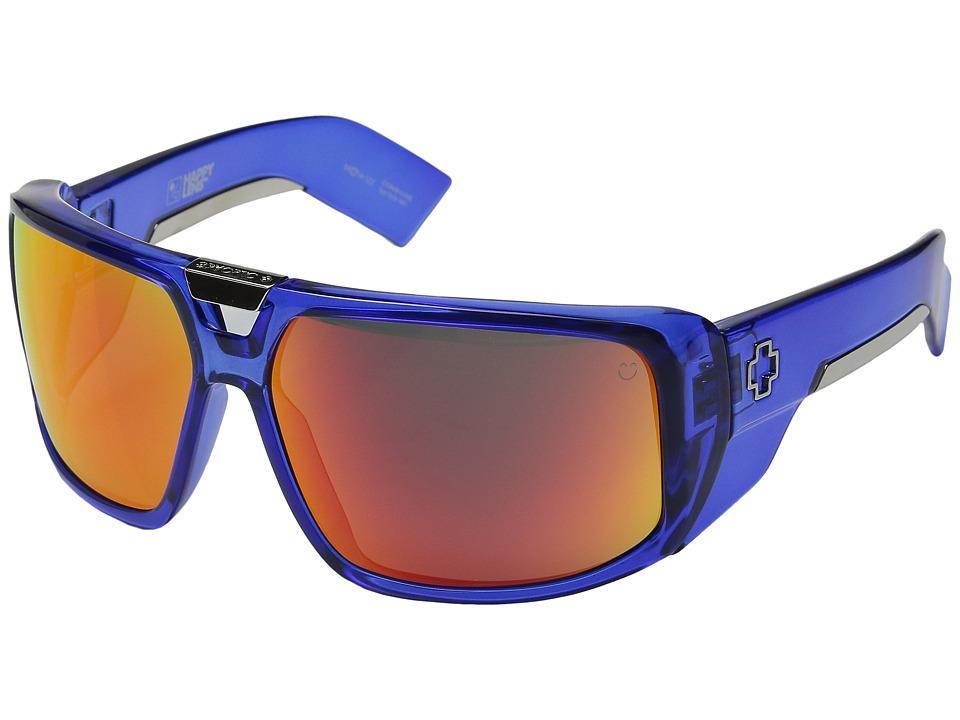 Spy Optic - Touring (Trans Navy/Happy Gray Green/Orange Spectra) Sport Sunglasses