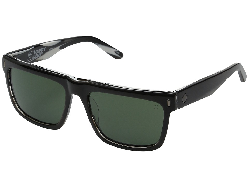 Spy Optic - Broderick (Black/Horn/Happy Gray Green) Sport Sunglasses