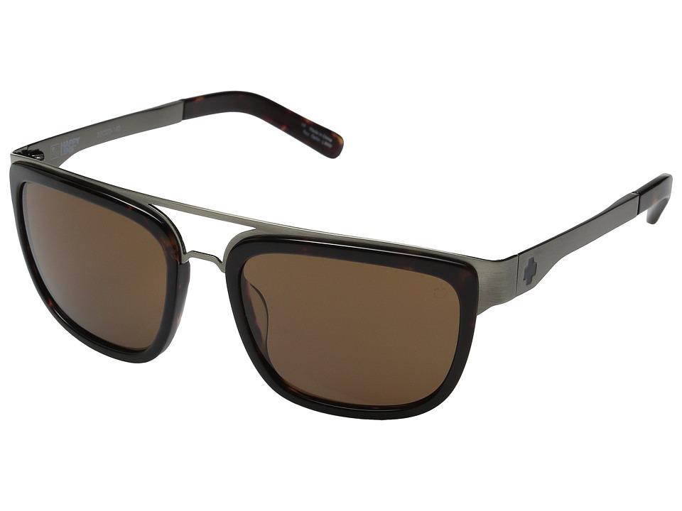Spy Optic - Latigo (Dark Tort/Happy Bronze) Fashion Sunglasses