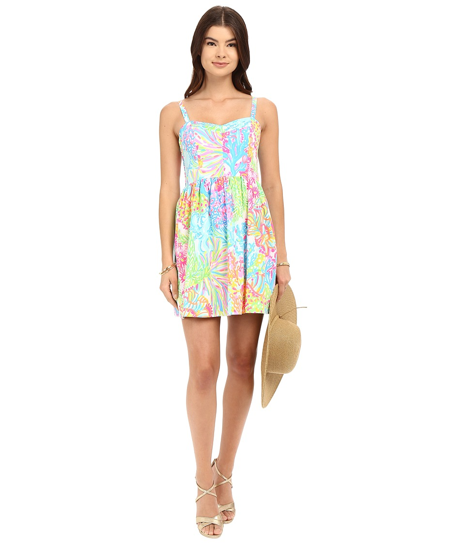 Lilly Pulitzer - Ardleigh Dress (Multi Lovers Coral) Women's Dress