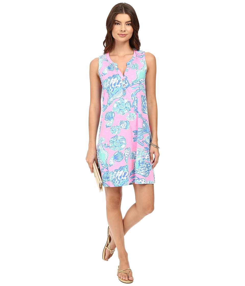 Lilly Pulitzer - Essie Dress (Pink Pout Barefoot Princess) Women's Dress