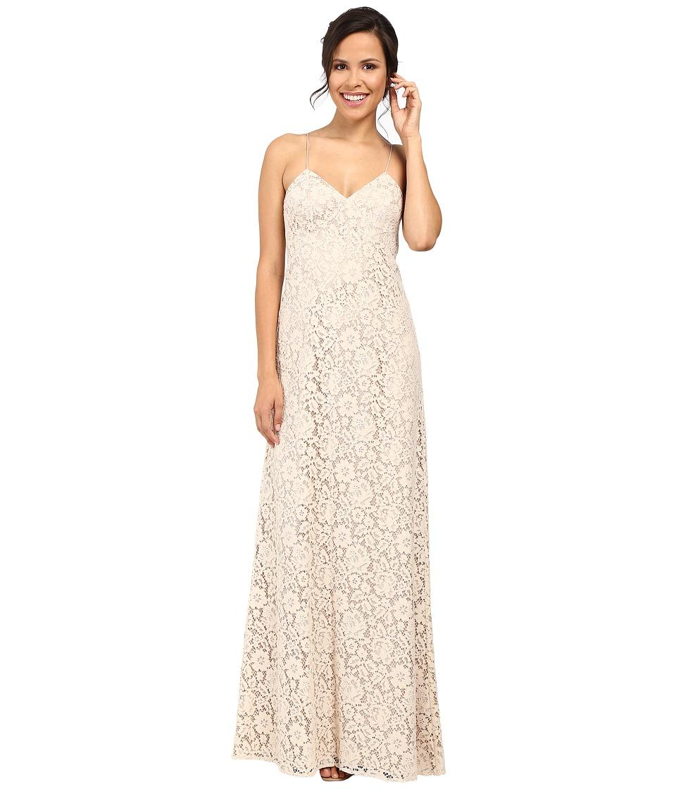 Donna Morgan - Gia Spaghetti Strap Slip Dress (Fawn) Women's Dress