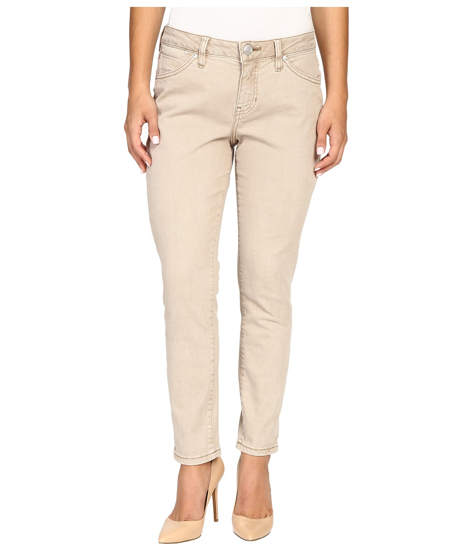 Jag Jeans Petite - Petite Penelope Mid-Rise Slim Ankle Jeans in Supra Colored Denim (Desert) Women's Jeans