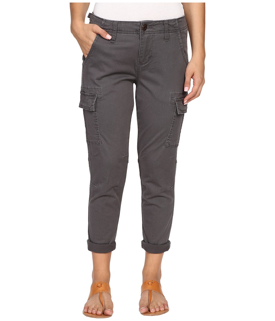 Jag Jeans Petite - Petite Powell Cargo Slim Boyfriend Jeans in Bay Twill (Flint) Women's Casual Pants