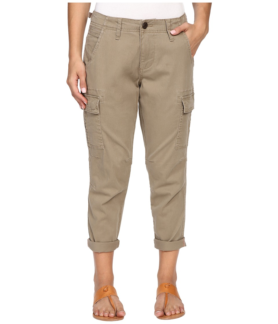 Jag Jeans Petite - Petite Powell Cargo Slim Boyfriend Jeans in Bay Twill (Hazelnut) Women's Casual Pants