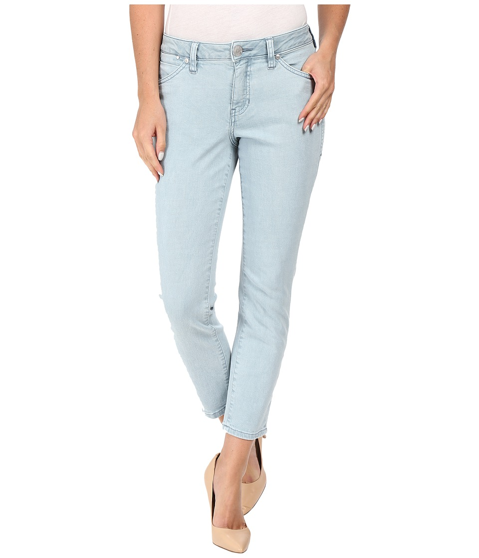 Jag Jeans Petite Petite Penelope Mid-Rise Slim Ankle Jeans in Supra Colored Denim (Mineral Pool) Women