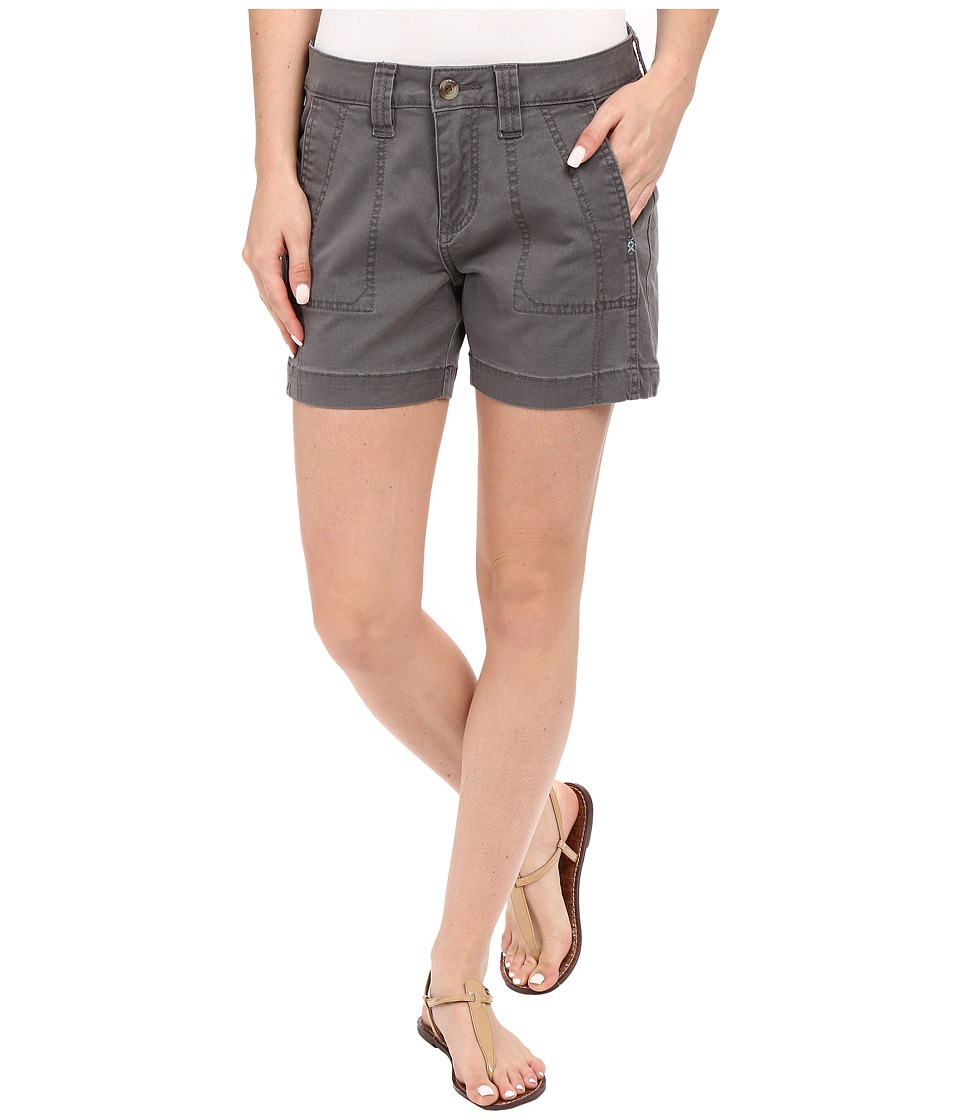 Jag Jeans Petite - Petite Somerset Relaxed Fit Shorts in Bay Twill (Flint) Women's Shorts