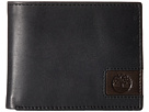 Cloudy Leather Tab Passcase Wallet