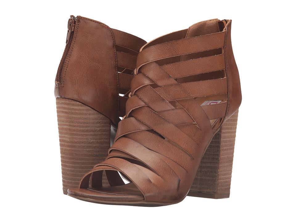 DOLCE by Mojo Moxy - Daytona (Cognac 2) High Heels