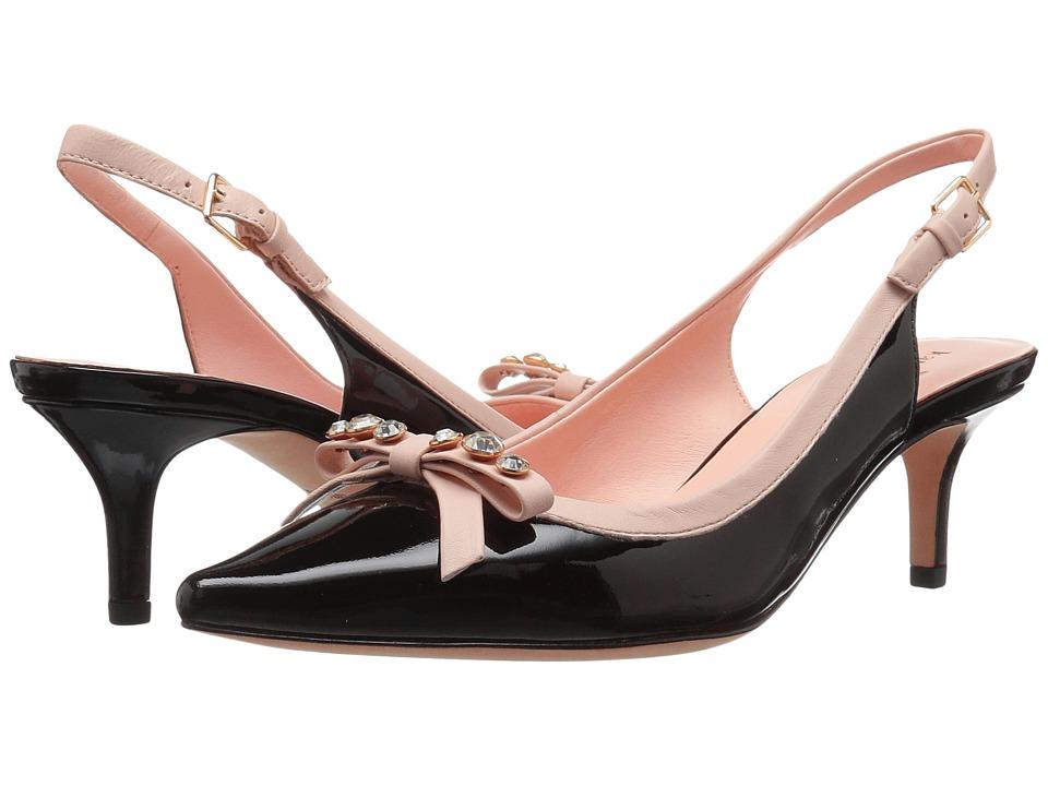 Kate Spade New York - Palina (Blush/Brown Leopard Haircalf Print) Women's Shoes