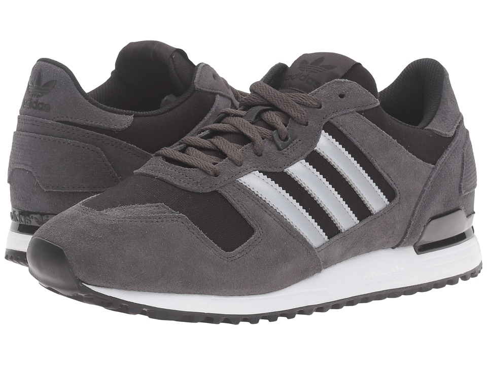 adidas Originals - ZX 700 - Mesh (Utility Black/Silver Metallic/Black) Men's Running Shoes