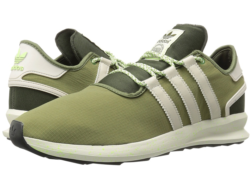 adidas Originals - SL Rise (Olive Cargo/Clear Brown/Solar Green) Men's Running Shoes