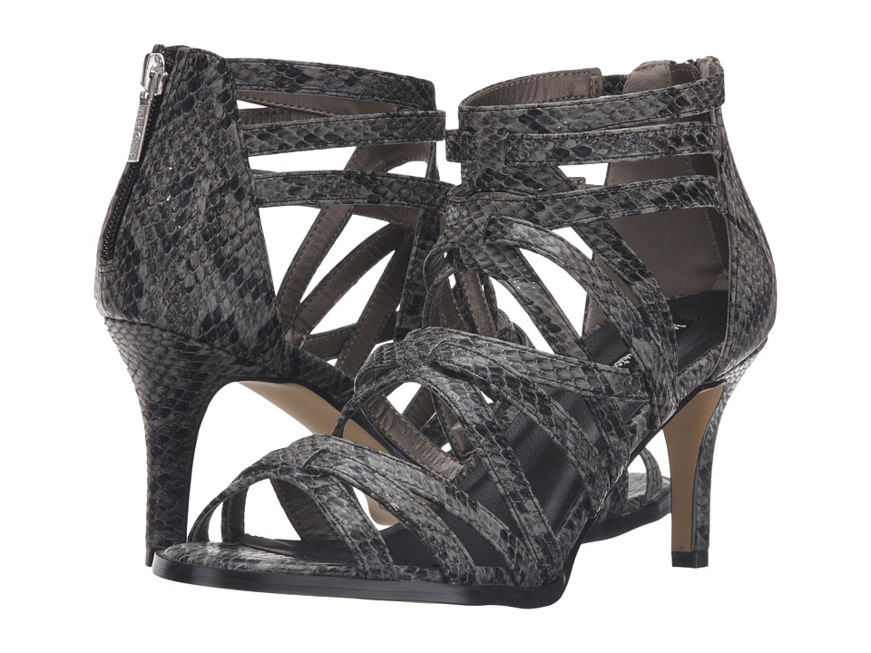 Michael Antonio - Fiffer Reptile (Black Reptile) Women's Dress Sandals