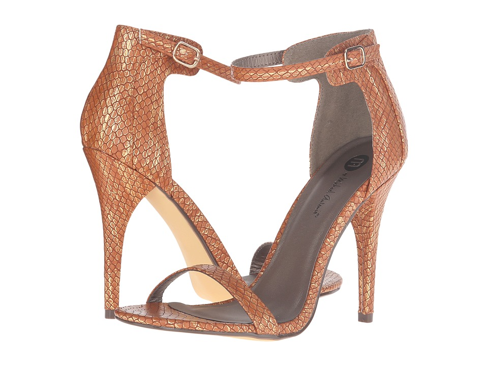 Michael Antonio - Rumor Reptile (Cognac Reptile) Women's Dress Sandals
