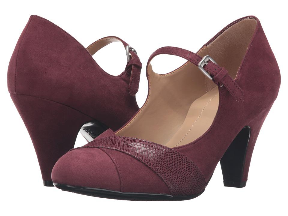 Naturalizer - Layton (Wine) Women's Shoes