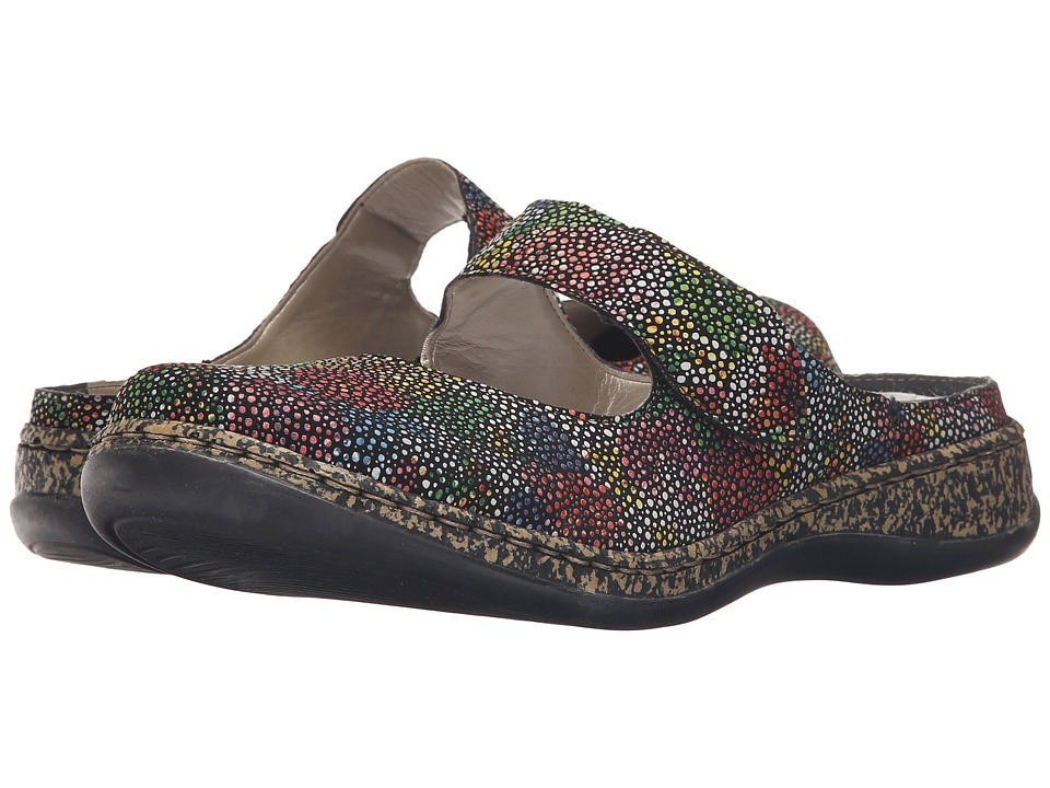 Rieker - 46394-92 (Black/Multi) Women's Flat Shoes