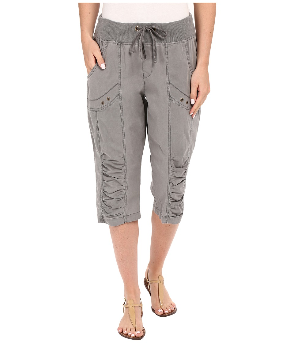 XCVI - Naida Crop Pants (Rock Pigment) Women's Casual Pants