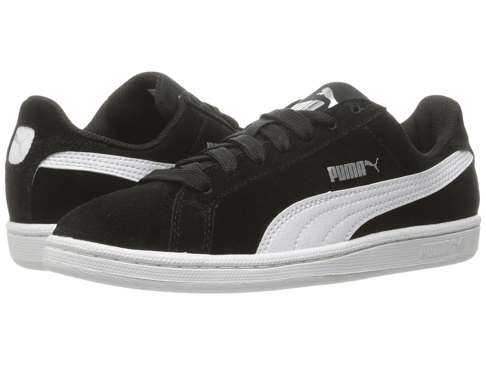 Puma Kids - Smash Fun Suede (Big Kid) (Puma Black/Puma White) Boys Shoes