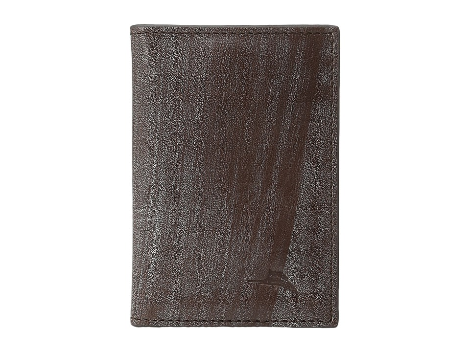 Tommy Bahama - Leather Bifold Wallet (Brown) Wallet Handbags