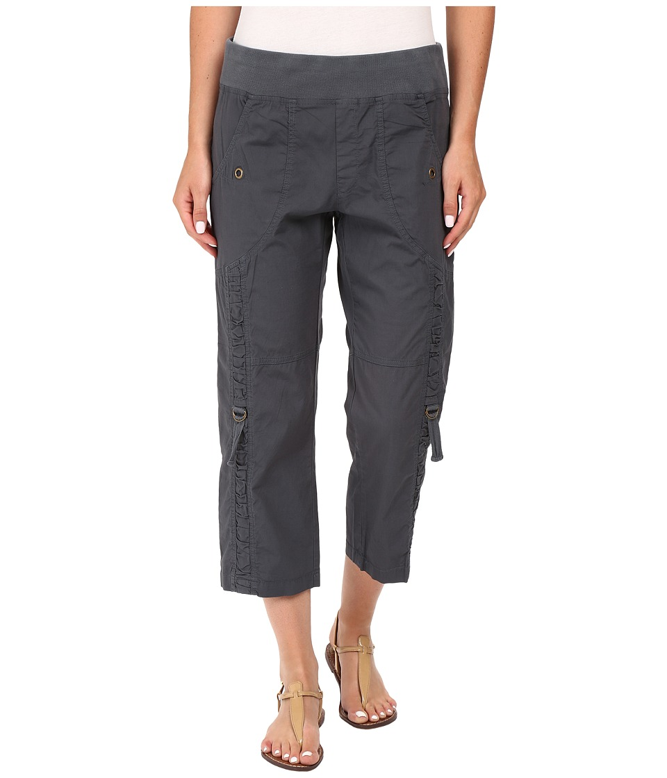 XCVI - Janan Crop Pants (Charcoal) Women's Casual Pants