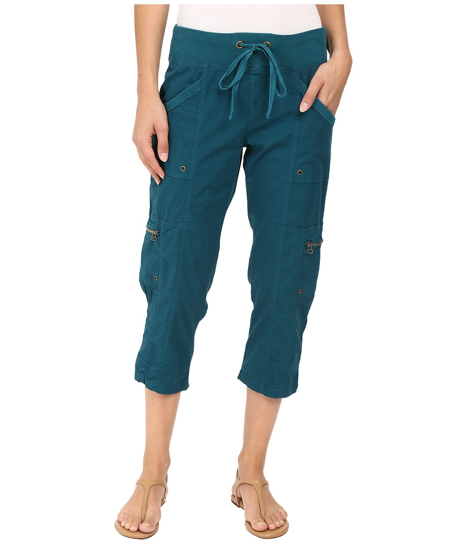 XCVI - Keene Crop Pants (Caspian Blue) Women's Casual Pants