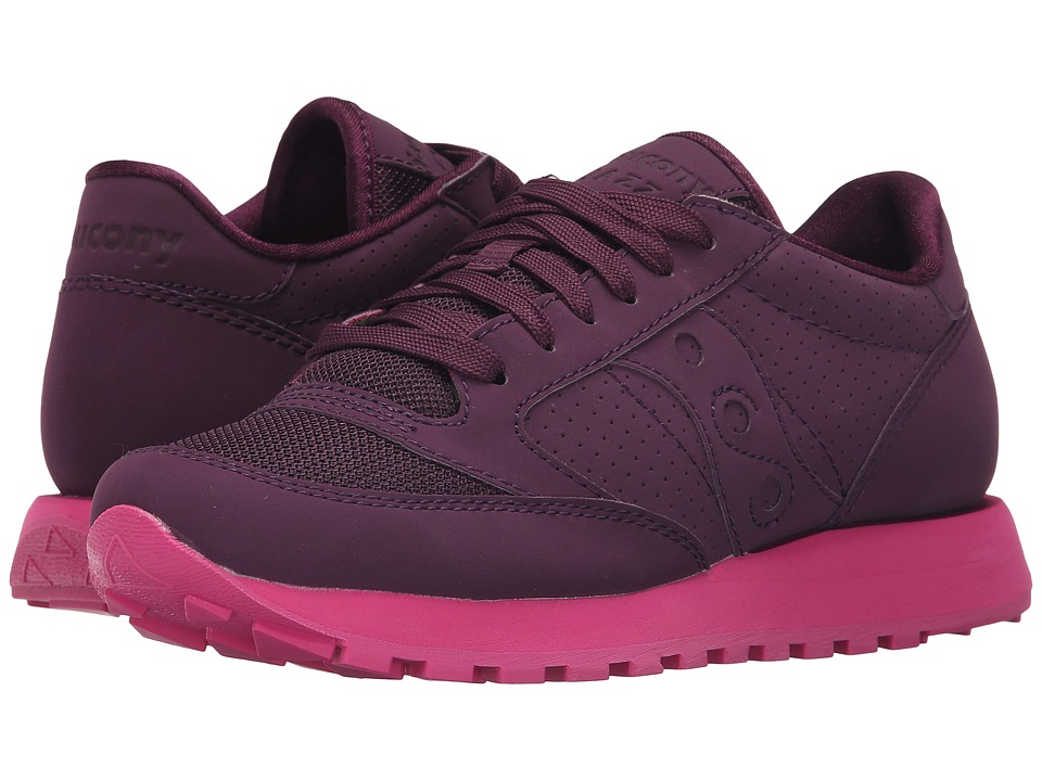 Saucony Originals - Grid SD Jazz Original (Grape/Purple) Women's Classic Shoes