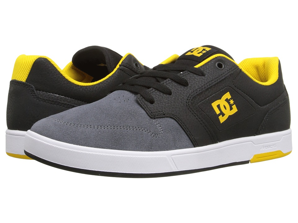 DC - Argosy (Black/Yellow/Yellow) Men's Shoes