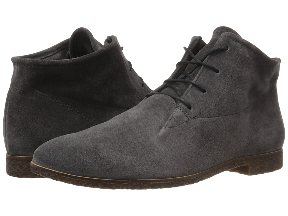 Paul Green Kai Oxford (Iron Suede) Women