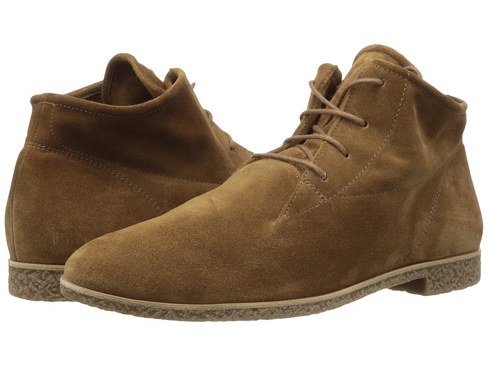 Paul Green Kai Oxford (Camel Suede) Women