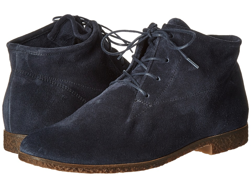 Paul Green Kai Oxford (Space Suede) Women